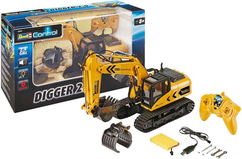Revell® RC-Bagger »Revell® control, RC Raupenbagger, Digger 2.0«