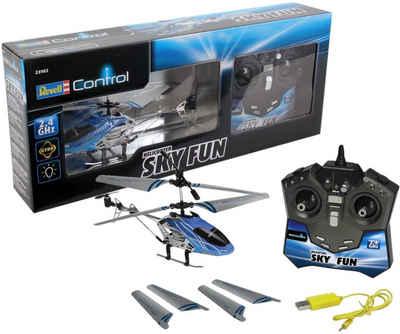 Revell® RC-Helikopter »Revell® control, Sky Fun, 2,4 GHz«, mit LED-Beleuchtungseffekten
