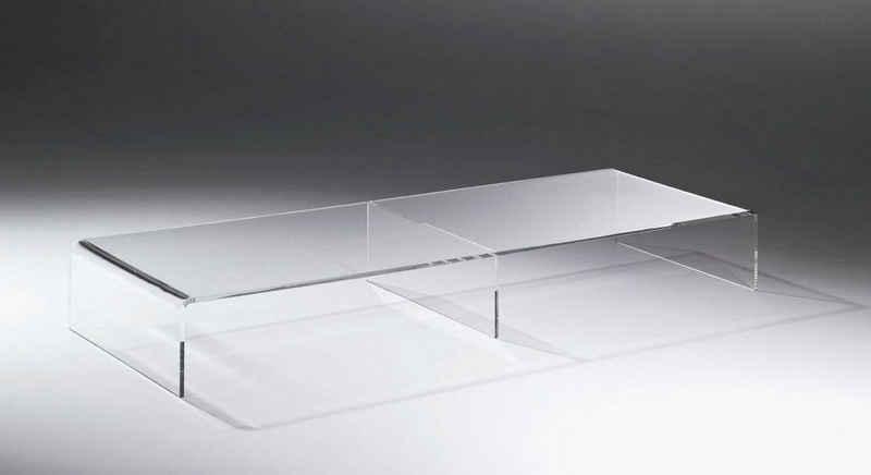 Places of Style TV-Bank »Remus«, aus Acrylglas in drei Farben und drei Breiten, Fernsehtisch