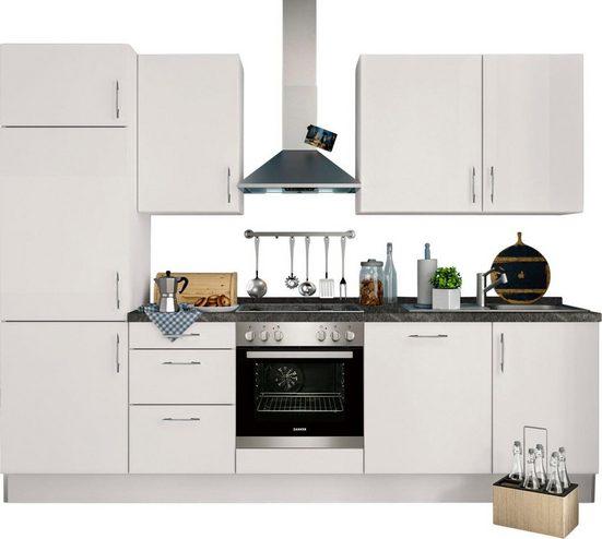 set one by Musterring Küchenzeile »Tomar«, mit E-Geräten, Breite 280 cm, vormontiert