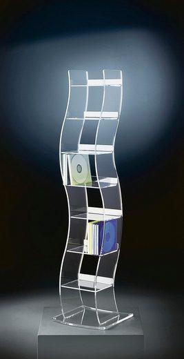 Places of Style CD/DVD-Ständer »Remus« aus Acrylglas
