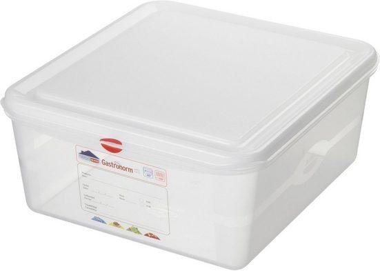 Sunware Vorratsdose »Gastronorm 2/3«, Kunststoff, (Set, 6-tlg)