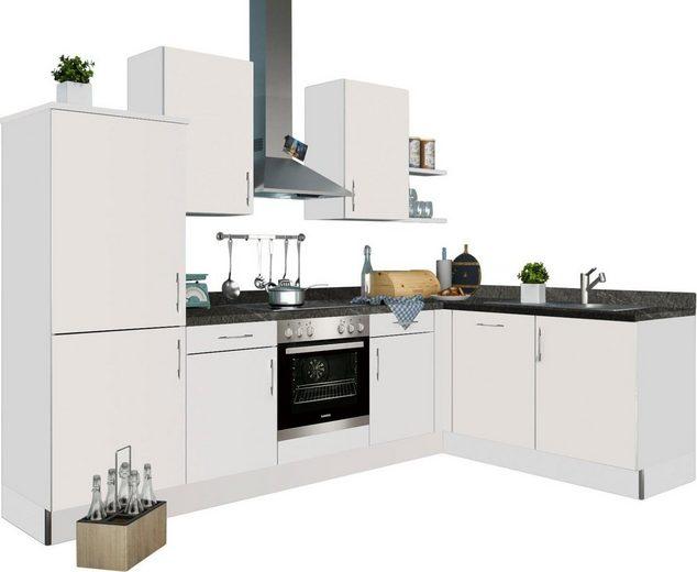 set one by Musterring Küchenzeile »Tomar«, ohne E-Geräte, Stellbreite 285 x 185 cm, vormontiert