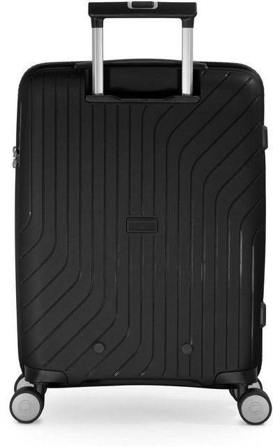 Hauptstadtkoffer Hartschalen-Trolley »TXL, schwarz, 55 cm«, 4 Rollen   Taschen > Koffer & Trolleys > Trolleys   hauptstadtkoffer