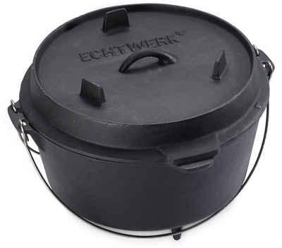 ECHTWERK Schmortopf »Dutch Oven«, Gusseisen, (1-tlg), 8 Liter