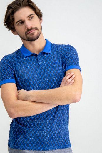 Garcia Poloshirt mit Allover-Print