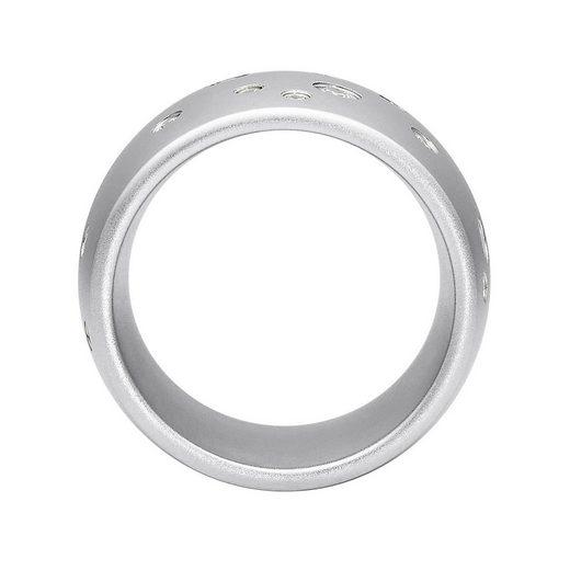 Heideman Fingerring »Astrum Glanzmatt« (1-tlg)  Damenring mit Swarovski Stein weiss oder farbig