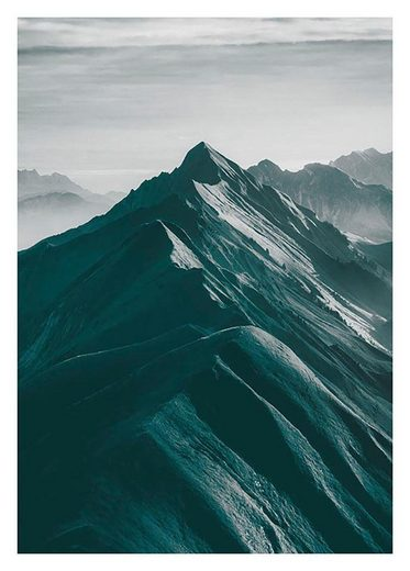 Komar Poster »Mountains Top«
