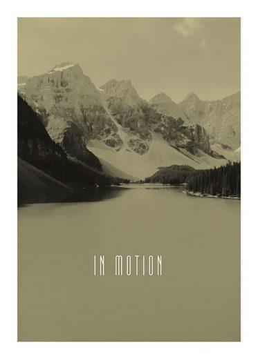 Komar Poster »Word Lake In Motion Sand«