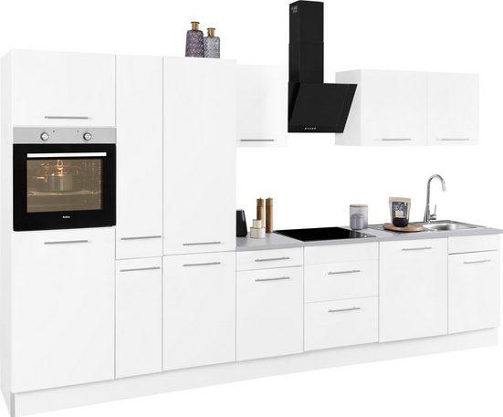 wiho Küchen Küchenzeile »Ela«, ohne E-Geräte, Breite 360 cm