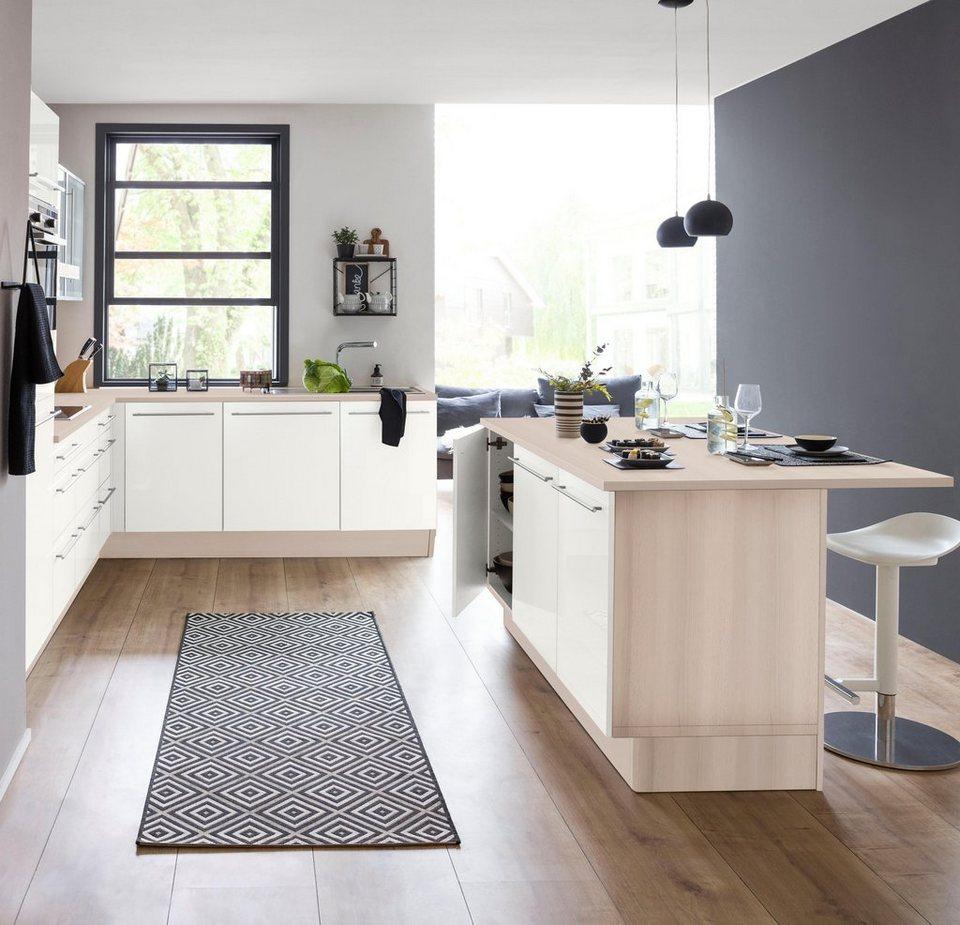 Optifit Kücheninsel Mit Theke Bern Breite 160 Cm Online Kaufen Otto