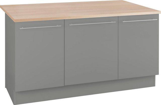 OPTIFIT Kochinsel »Bern«, mit Theke, Breite 160 cm | Küche und Esszimmer > Bar-Möbel > Tresen und Theken | OPTIFIT