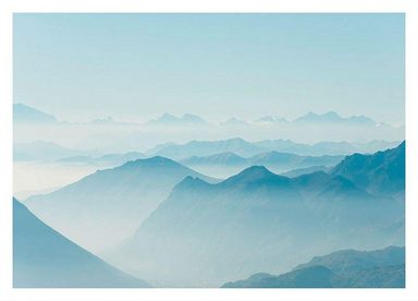 Komar Poster »Mountains View«