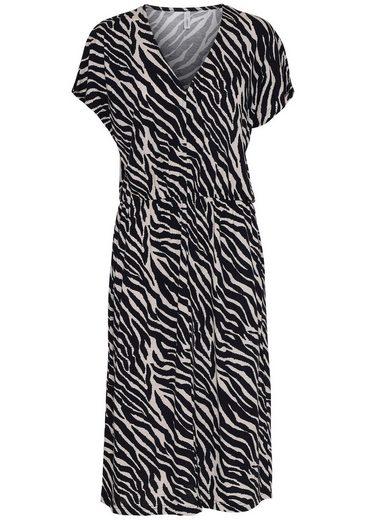 soyaconcept Jerseykleid »FelicityAOP247« mit modischen Animal-Print