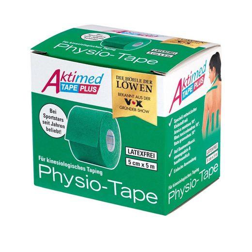 Aktimed Physio Tape,Klebstoff mit pflanzl. Extrakten,grün