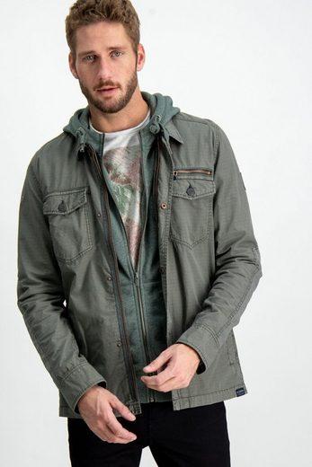 Garcia Hemd mit Brusttaschen und Reißverschluss-Detail
