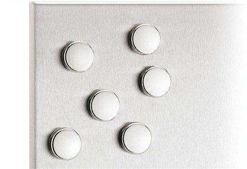 blomus set magnete muro 4 oder 6 stck kaufen otto. Black Bedroom Furniture Sets. Home Design Ideas