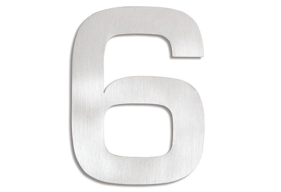 Hausnummer, Blomus, »Signo« | Lampen > Aussenlampen > Hausnummern | Edelstahl | BLOMUS