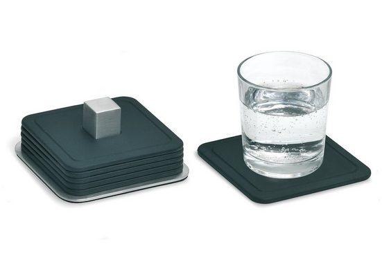 BLOMUS Glasuntersetzer TRAYAN, Set, 6-tlg., Silikon