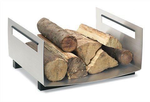 Holzablage, Blomus, »Chimo« in Edelstahl