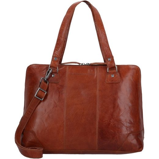The Chesterfield Brand Resa Schultertasche Leder 38 cm Laptopfach
