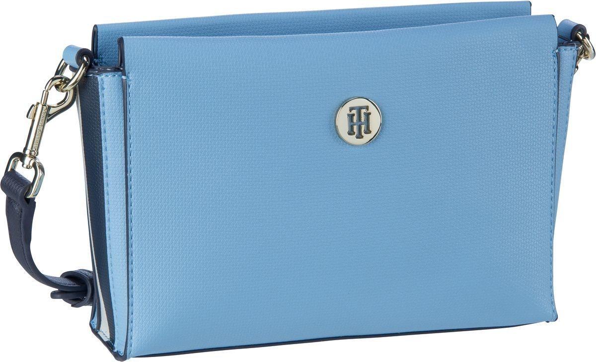 Damen TOMMY HILFIGER Umhängetasche »Effortless Saffiano Crossover 6306« blau  Damen Handtaschen