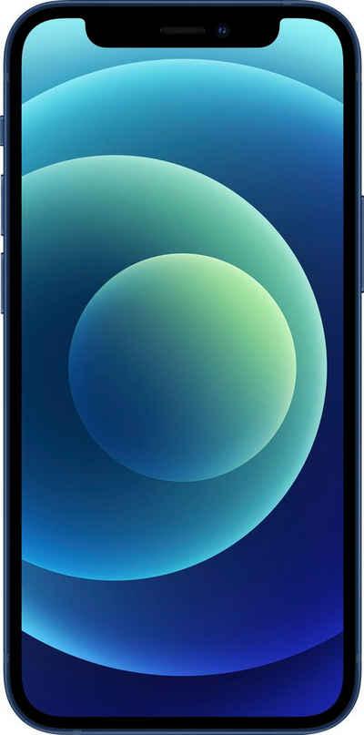 Apple iPhone 12 mini Smartphone (13,7 cm/5,4 Zoll, 64 GB Speicherplatz, 12 MP Kamera, ohne Strom Adapter und Kopfhörer, kompatibel mit AirPods, AirPods Pro, Earpods Kopfhörer)