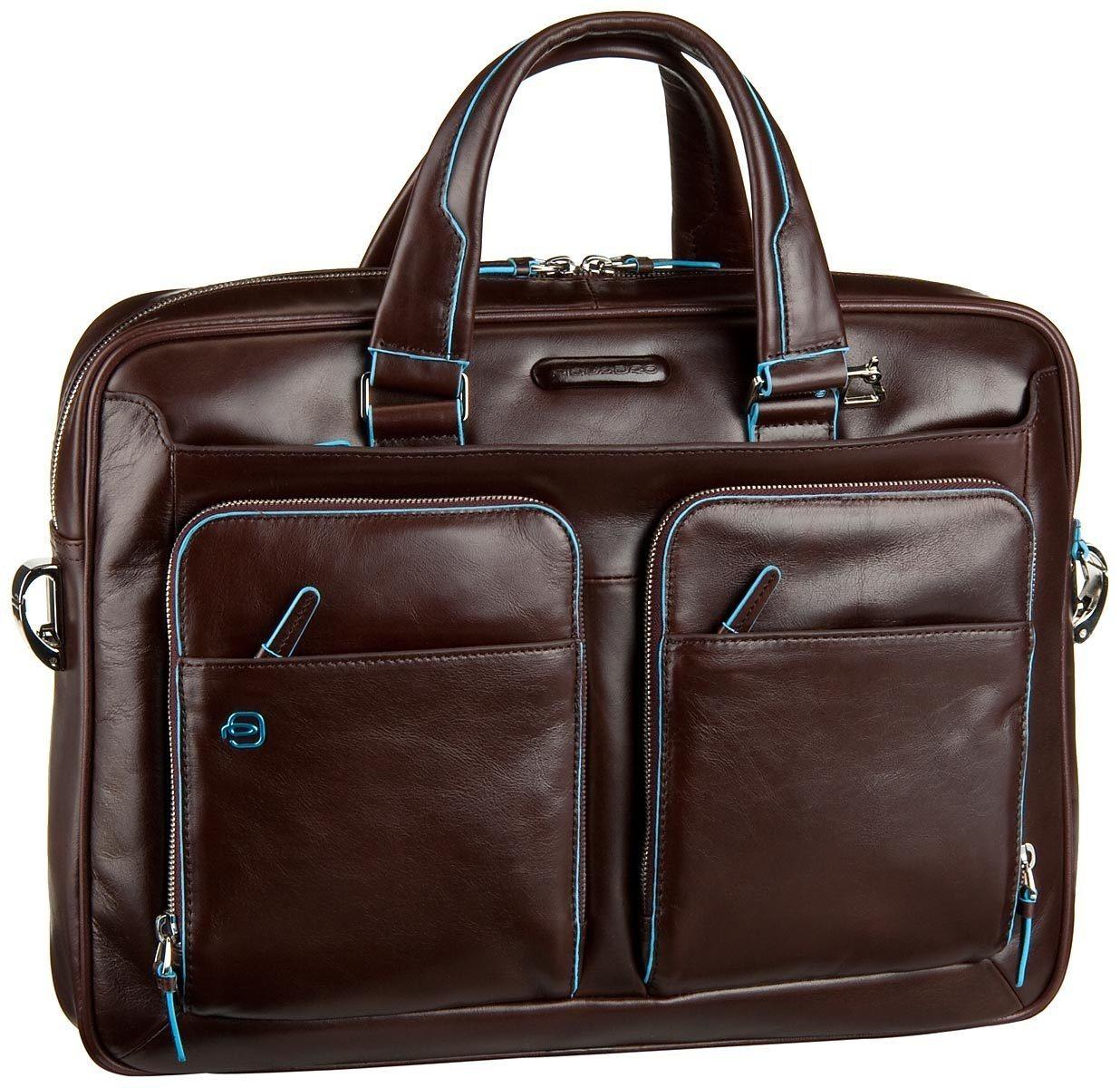Piquadro Aktentasche »Blue Square Laptoptasche« | Taschen > Business Taschen | Lila | Nylon | Piquadro