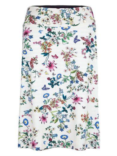 Amy Vermont Wenderock mit floralem und grafischem Muster
