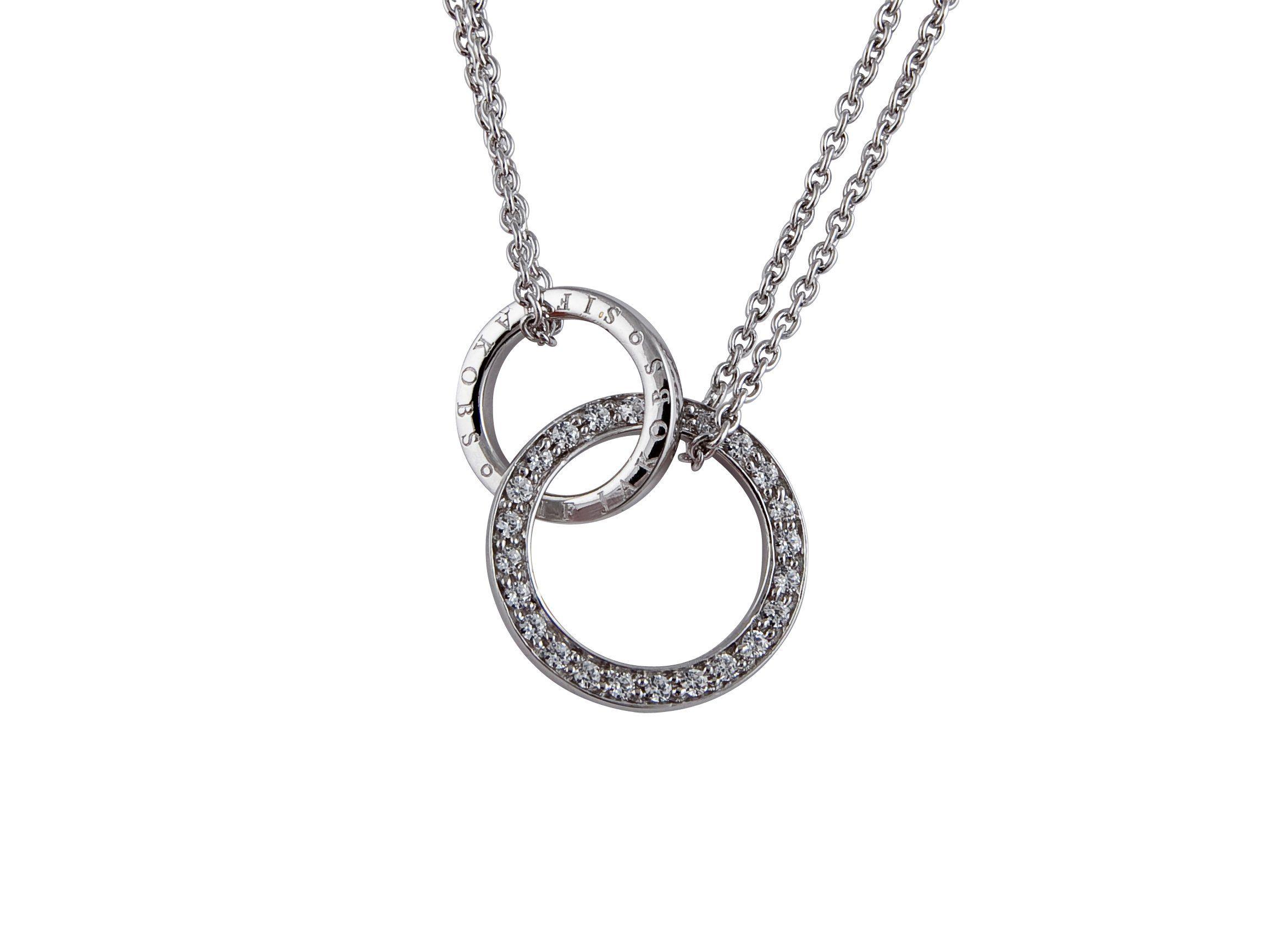 Jakobs Beschichtung »prato« Rhodinierter Jewellery Mit Sif Halskette Kaufen Online TK1cFJl
