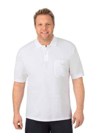 Trigema Poloshirt mit Brusttasche