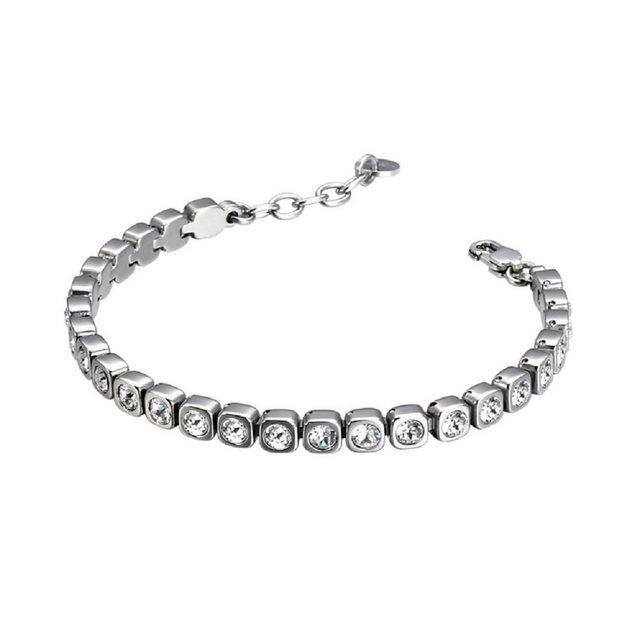 Heideman Armband »Amilla 3«, Tennisarmband mit Swarovski Stein weiß Gliederarmband | Schmuck | Heideman