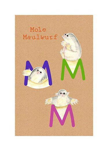 Komar Poster »ABC Animal M«, Tiermotiv