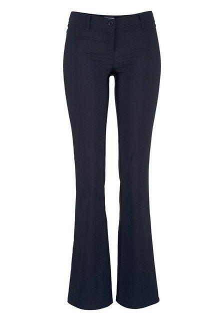 Hosen - AJC Stretch Hose aus pflegeleichter Bengalin Qualität mit Schlag › blau  - Onlineshop OTTO