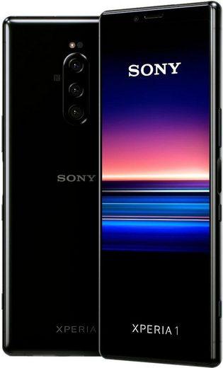 Sony Xperia 1 Smartphone (16,5 cm/6,5 Zoll, 128 GB Speicherplatz, 12 MP Kamera)