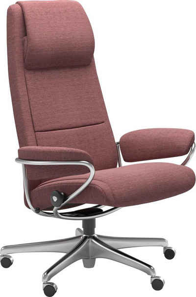 Stressless® Relaxsessel »Paris«, High Back, mit Home Office Base, Gestell Chrom
