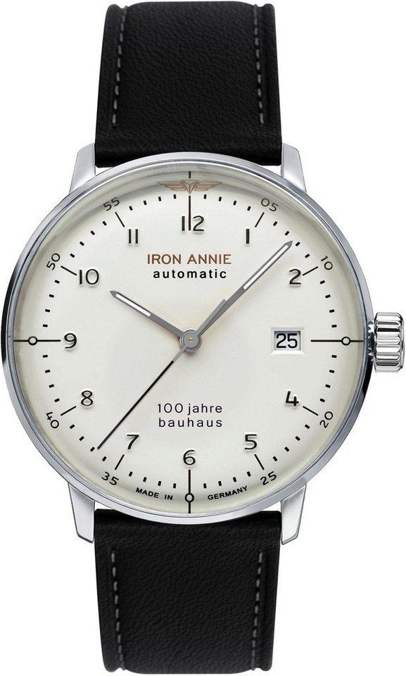 IRON ANNIE Automatikuhr »Bauhaus, 5056-1«   Uhren > Automatikuhren   Schwarz   IRON ANNIE