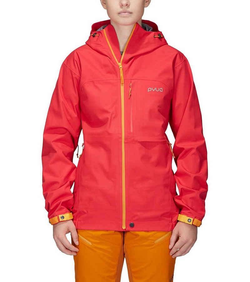 PYUA Skijacke »PYUA Ski-Jacke wasserdichte Damen Hardshell Regen-Jacke Gorge Winter-Jacke Pink«