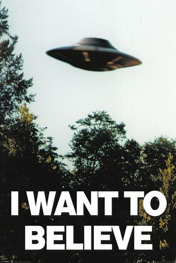 empireposter Poster »X-files - I Want To Believe Poster«, nur das Poster ohne Rahmen. Format Maxi 61x91,5 cm