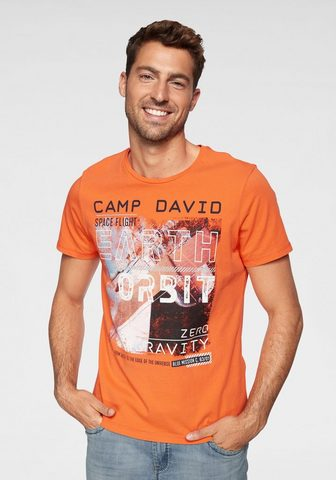 CAMP DAVID Футболка