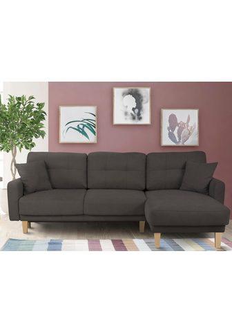 HOME AFFAIRE Kampinė sofa »Triplo«