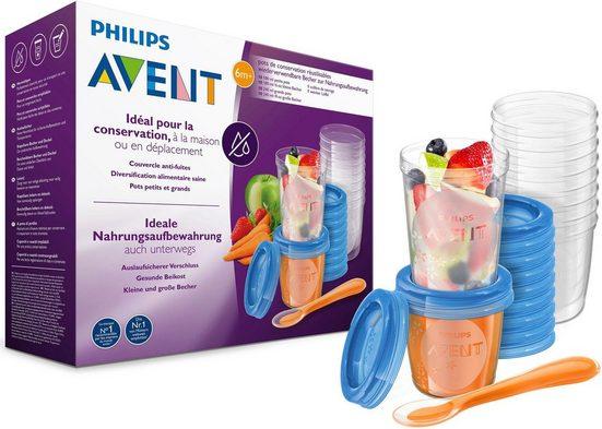 Philips AVENT Aufbewahrungssystem »SCF721/20«, Polyprophylen (PP), (Set, 41 tlg)