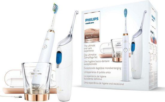 Philips Sonicare Zahnpflege-Set »HX8492/04«, Set, 2-tlg., Bonuspack DiamondClean und AirFloss Ultra