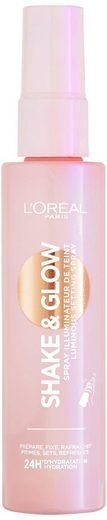 L'ORÉAL PARIS Fixierspray »Shake & Glow«, mit Glow-Effekt