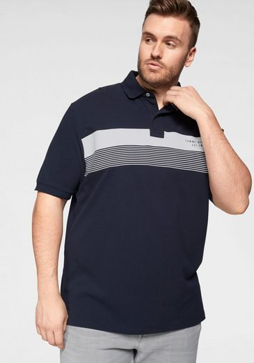 Tommy Hilfiger Big & Tall Poloshirt »BIG & TALL CHEST PRINT REGULAR POLO«