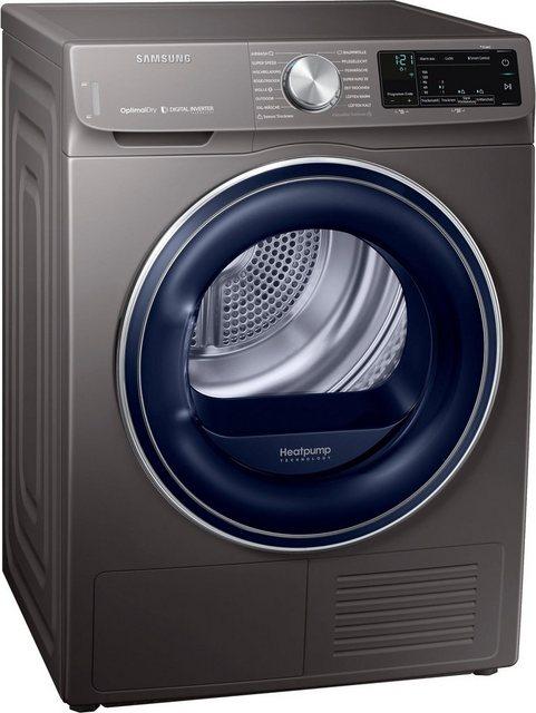 Samsung Wärmepumpentrockner DV6800 QuickDrive DV8AN62532X, 8 kg, Super Speed Trocknen - 3kg in nur 81 Minuten | Bad > Waschmaschinen und Trockner > Wärmepumpentrockner | Samsung
