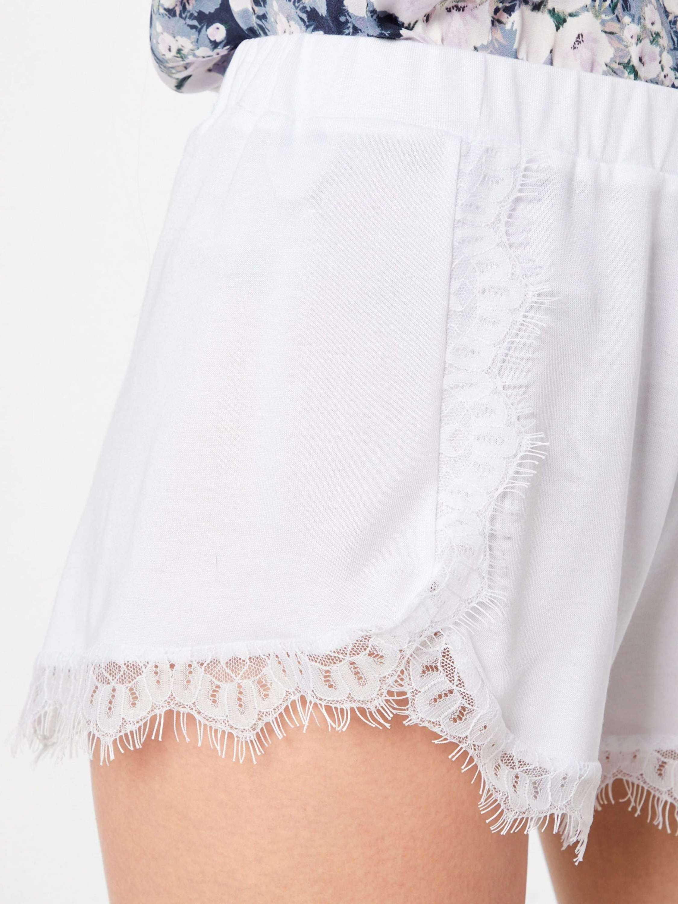 Shorts kd Lace Shorts« »overlapped Na Detailed b7ymfgIY6v