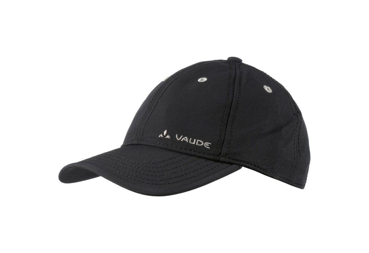 VAUDE Snapback Cap »Softshell« | Accessoires > Caps > Snapback Caps | Schwarz | VAUDE