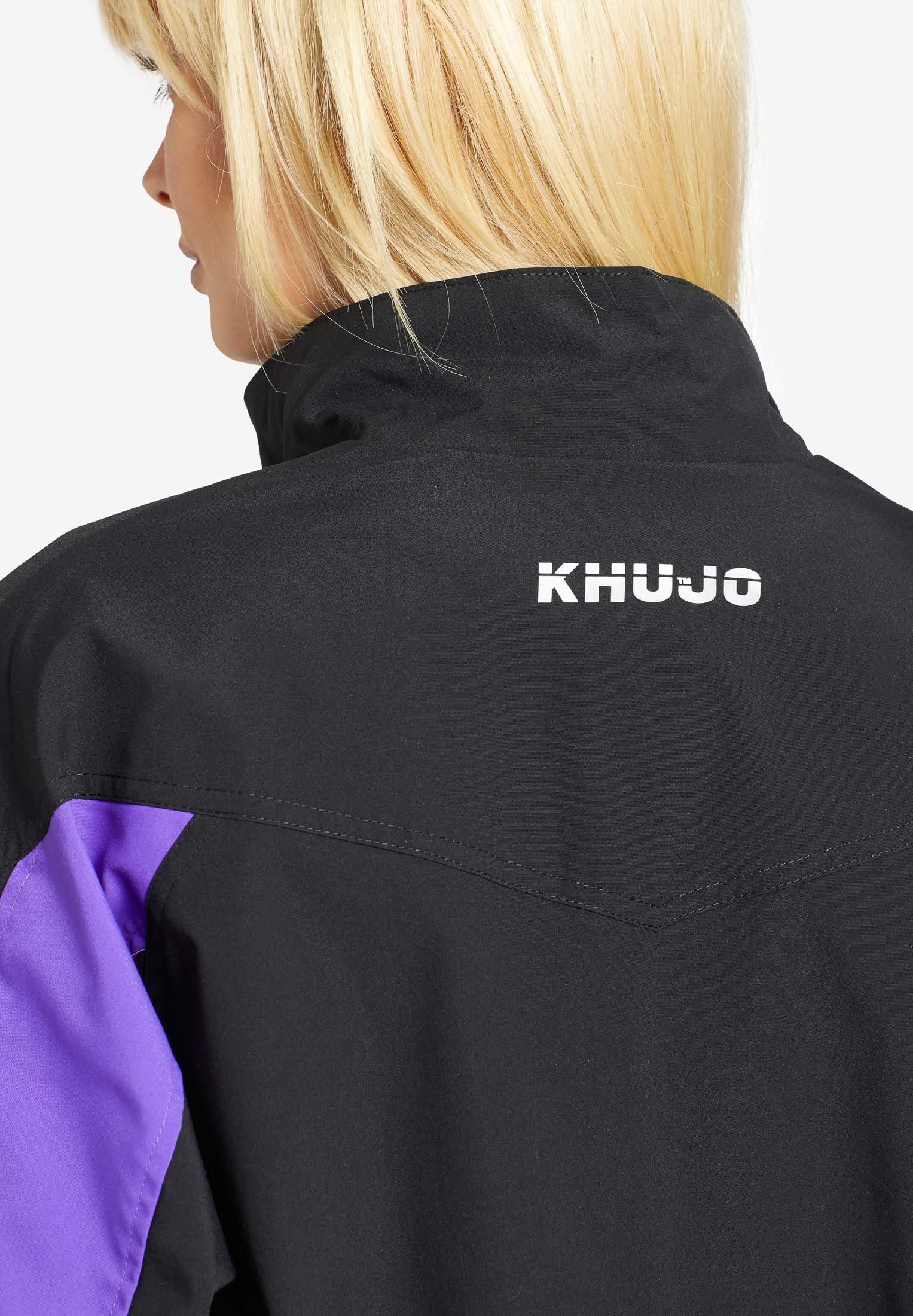 Khujo Trainingsjacke »hope« (1-st) Mit Color Blocking An Den Ärmeln Online Kaufen