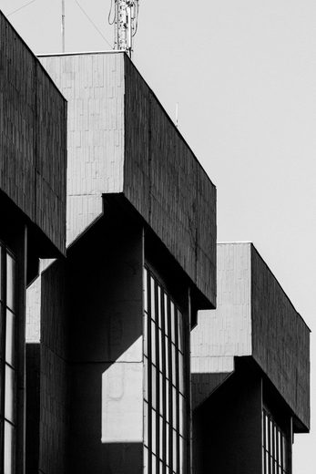 Places of Style Acrylglasbild »Gebäude«
